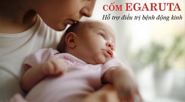 Bệnh động kinh có thể khởi phát ở trẻ ngay những ngày tháng đầu sau sinh